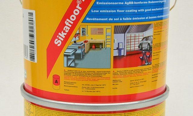 Sikafloor – 2540 W – żywica epoksydowa do garażu